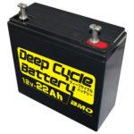 ディープサイクルバッテリー22Ah_BM-D22