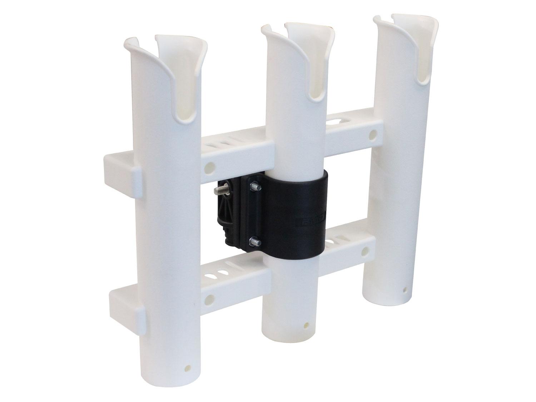 フィッシング用品 3連ロッドホルダークランプ bm rrh set ビーエム