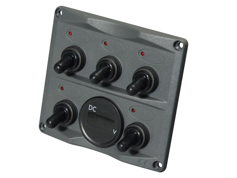 40B0019_電圧計付スイッチパネル C10430G_4571484499254