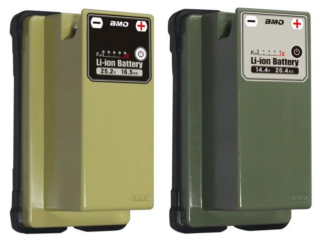 リチウムイオンバッテリー25.2V 16.5Ah/14.4V 26.4Ah