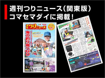 つりニュース中部版(4月19日号)コマセマダイ釣行記事掲載
